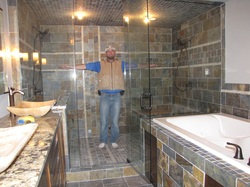 Bathroom remodeling designs how to design a bathroom remodel - Tile Amp Flooring Custom Stone Installers Ironwood Mi612